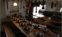 Eating time on a medieval ship
