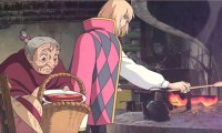 Breakfast time in Howl's Moving Castle