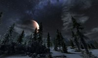 Skyrim at night
