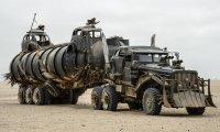 The War Rig travels through the desert