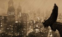 A rainy night in Gotham