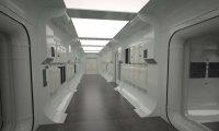 Rebel Ship Hallway