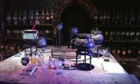 A Quiet Night in Snape's Laboratory