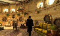 The common room in Hufflepuff!