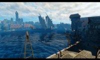 fishing dock/market