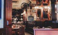 Calm ambiance of a pub