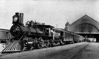 Malifaux Train Departing