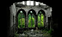 Chapel in a Medieval Forest