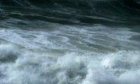 Howling wind, crashing thunder, and roaring waves