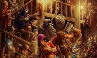Crowded Fantasy Tavern