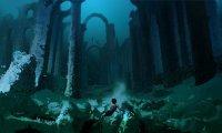 Under the Hogwarts lake