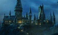 Rainy Day Outside Hogwarts