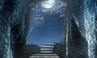 Mystic cave meditation