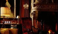 Just a quiet evening int the old drawing room..
