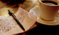 Writing Café - Rain