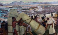 A stormy afternoon in Tenochtitlan...