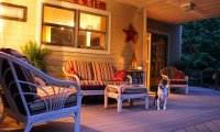 An Evening on Grandma's Porch