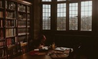 A Stormy Evening for Studying