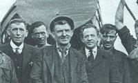 irish seafarers during heavy storm singing Randy Dandy 'O