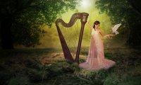 Secret Garden Harp