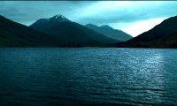 Great lake at night