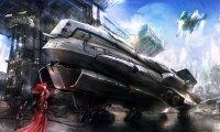 Busy Alien Space Port