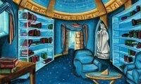 Quiet Ravenclaw Study Room