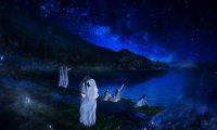 The Elves awoke under starlight, beside the lake of Cuiviénen.