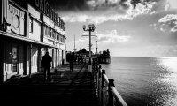Brighton Beach in Summer