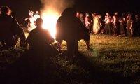 A Dagorhir Event At Night