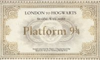 Stay dry while you study on the Hogwarts Express