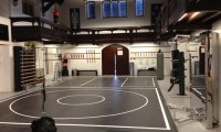 Gym at the Vampire Academy