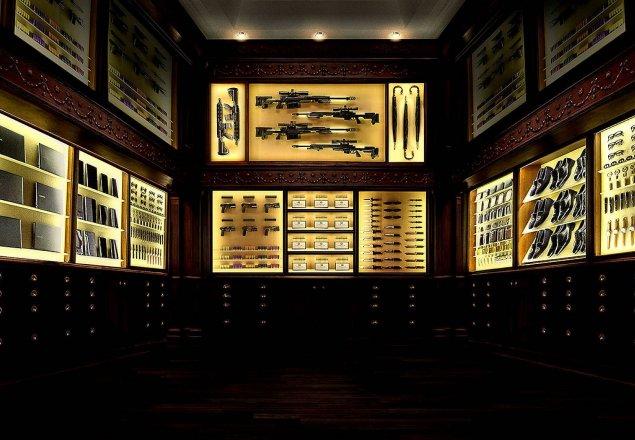 Kingsman Tailor Shop Audio Atmosphere