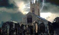 Onweer tijdens de mis