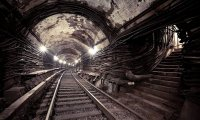 Post-apocalyptic metro tunnels