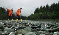 A little bit of water won't stop an avid hiker like you!