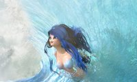 Ride the waves with mermaids!