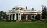 Thomas Jefferson's library at Monticello.
