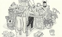 Zelda's study