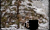 Quiet Winter Morning Cafe