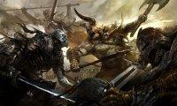 A medieval fantasy battle