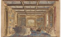 Quite Ravenclaw common room