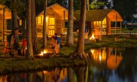Nighttime in Cabin 7