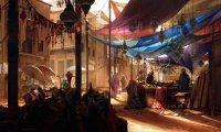 Fantasy/D&D town market