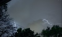 light thunderstorm without the big thunderclap