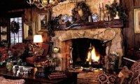 A Warm Cozy Winter Cottage