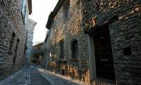 Fantasy Journey to a medieval village