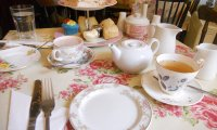 Midday Tea on Valentine's Day