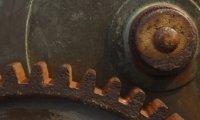 heavy machinery w/o water drip