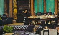 Relax and Study in the Slytherin Common Room